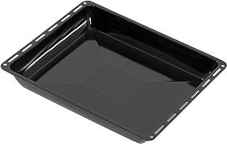 ICQN Plaque de cuisson 445 x 375 x 40 mm | Extra profondeur 5 cm | émaillée | Poêle à graisse pour four | Anti-rayures | 4...
