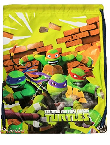 ZAINO SACCA TARTARUGHE NINJA TEENAGE MUTANT NINJA TURTLES 41x32 cm