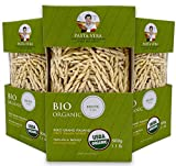 Pasta Vera Organic Trofie (1.1 lb) Imported from Italy | Organic | 100% Italian Durum Wheat Semolina | Bronze Extruded | All Natural (3-PACK)