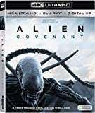 Alien: Covenant (4K UHD + Blu-ray + Digital) NO Slipcover