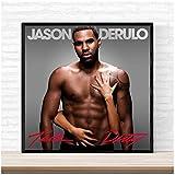 w15y8 Jason Derulo Talk Schmutziges Musikalbum Cover Poster