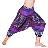 PANASIAM® Aladin Pants 3/4, Maoi_Purple