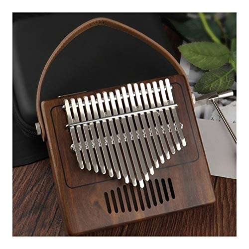 SADDPA Daumenklavier, Scoutdoor 17 Keys Daumenklavier Made by Einplatinen hochwertiges Holz Mahagoni Korpus Musikinstrument (Color : B)