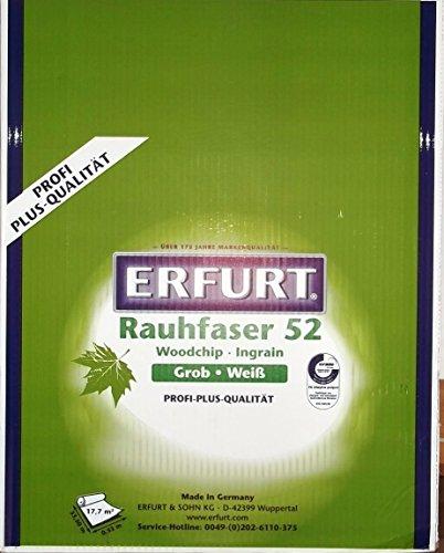 Erfurt Rauhfaser 52-33,5 m x 0,53 m (17,76 m²) 6 x Rollen (1 Kiste)