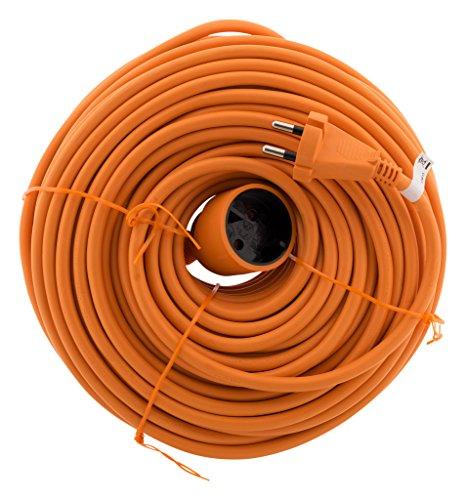 Prolongateur 16A HO5VV-F 2x1,5 Orange 50m