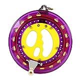 Mint's Colorful Life Drachenschnur Seilwinde für Drachen, 200m Schnüre und Stecker bereit. EIN gutes Flugspielzeug Geschenk für Ihre Kinder/Teenageralter (Violett)
