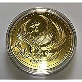 日本金貨 鳳凰 菊御紋 24K ゴールドコイン メダル レプリカ