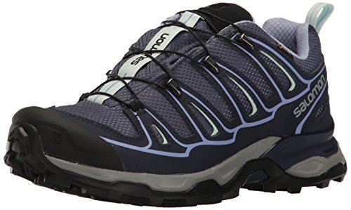 Salomon X Ultra 2 GTX W, Zapatillas de Deporte Exterior para Mujer, Azul (Crown Blue/Evening Blue/Easter Egg), 36 EU