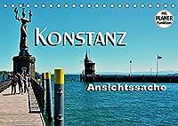 Konstanz - Ansichtssache (Tischkalender 2022 DIN A5 quer): Impressionen aus Konstanz (Geburtstagskalender, 14 Seiten )