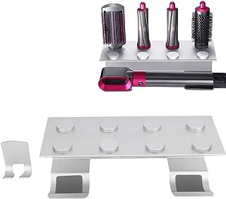 Soporte para Rizadores de Pelo, Rejilla para Rizador de Pelo para Dyson Airwrap Styler, Soporte de Almacenamiento para Colgar en la Pared con Perforación Gratuita Soporte Aluminio Calidad (1#)