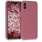 kwmobile Cover Compatibile con Apple iPhone XS - Custodia in Silicone TPU - Back Case...