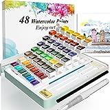 Watercolor Paint Set, Watercolour Paint Box...