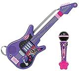 Smoby - 520103 - Chica Vampiro Guitare Electronique + Micro