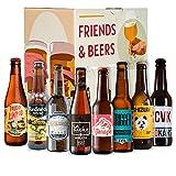Pack de cervezas artesanales - Caja Cerveza artesana: La Virgen, Zeta, Esperanto, La Sagra, Panda Beer, CCVK, Redneck, Espiga, Santa Monica. I Selección de cervezas españolas para regalar y disfrutar.