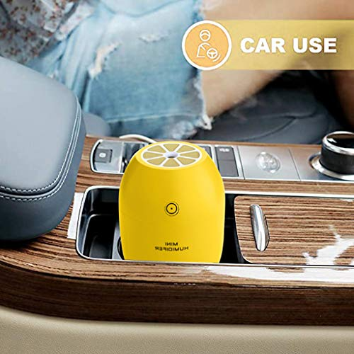 BXzhiri Mini Humidifier - USB Spray Diffuser Humidifier Air Aromatherapy Purifier with Night Light for Home Car Office Bedroom Baby