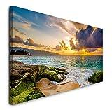 Paul Sinus Art GmbH Hawaii Küstenlandschaft 120x 50cm