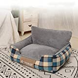 Alexny Pet bed, removable and washable pet bed suitable <span class='highlight'>for</span> small and <span class='highlight'>medium</span>-<span class='highlight'>sized</span> large <span class='highlight'>dog</span>s, breathable sofa kennel