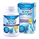 Calcium Supplement (Citrate & Hydroxyapatite 1000mg) for Complete Bone Health + Vitamin D3 K2 Magnesium & More, 180...