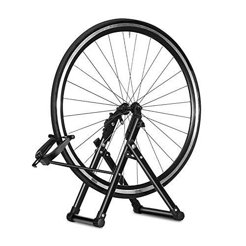 Greensen Fahrradmontageständer Reparaturständer, Bike Zentrierständer Mountainbike Ausstellungsständer, ahrrad-Rad-Wartung Fahrradzubehörteile Rad Kickhalterträger für Fahrrad-Räder