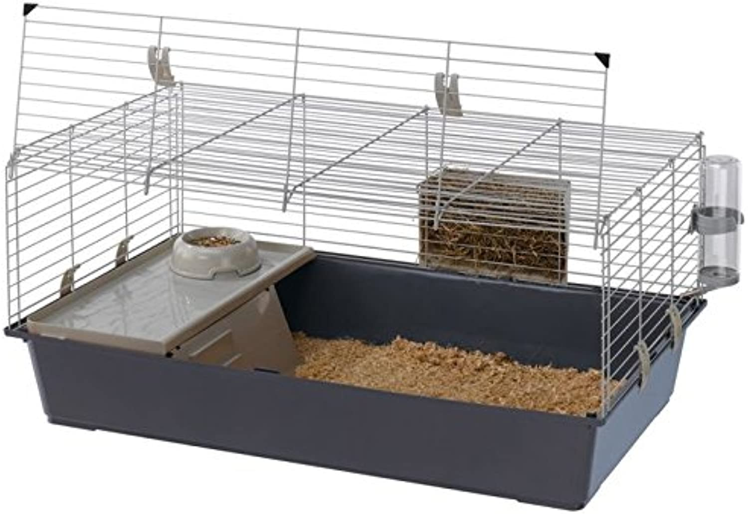Luxurious And High Quality Rabbit and Guinea Pig Cage 100 (For Small Animals)  An Economical Starter Cage For Dwarf Rabbits And Guinea Pigs