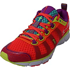 Fitness REcoil Trainers China The heel height is inches and the color is Diva Pink.