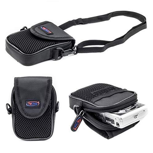 Digicharge® Compacte Digitale Camera Zachte Koffer Draagtas voor Sony Cyber-shot DSC-J DSC-T DSC-TX DSC-WX DSC-W-serie Canon Ixus Powershot + Elph A SX S Series Tas Case