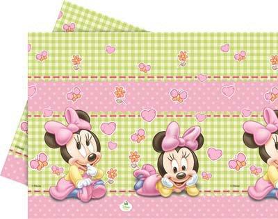 ILS I LOVE SHOPPING Tovaglia per Festa Compleanno (Baby Minnie Bimba, Tovaglia)