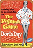 None Branded The Pajama Game Doris Day Blechschild