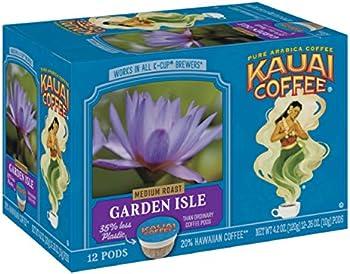 12-Count Kauai Garden Isle Medium Roast Coffee Single-Serve Pods