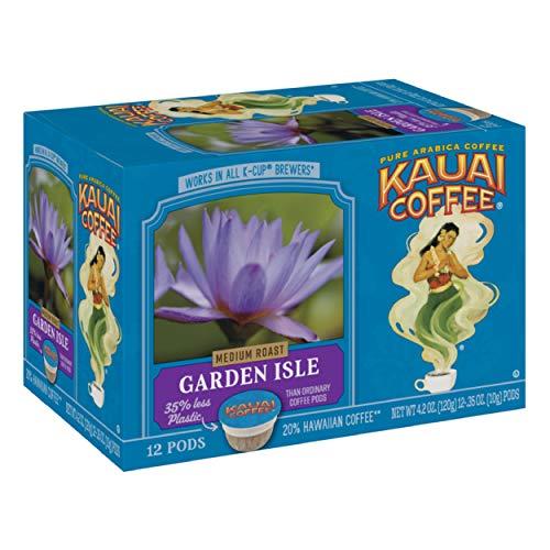Kauai Coffee Single-Serve Pods, Garden Isle Medium Roast - 12 Count Now $7.56