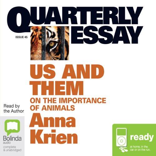 Quarterly Essay 45: Us & Them audiobook cover art