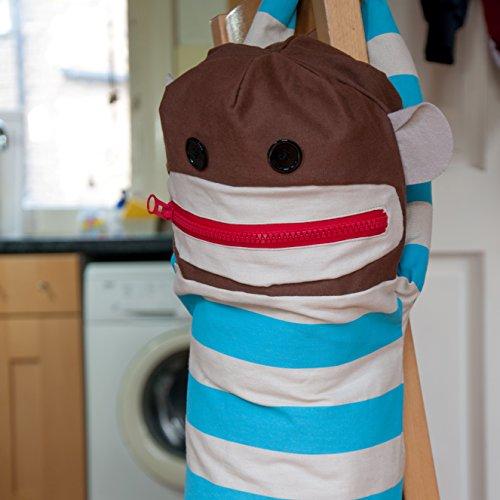 Suck UK Sock Monkey Laundry Bag