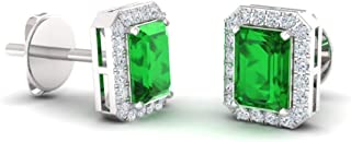 Best natural emerald studs Reviews