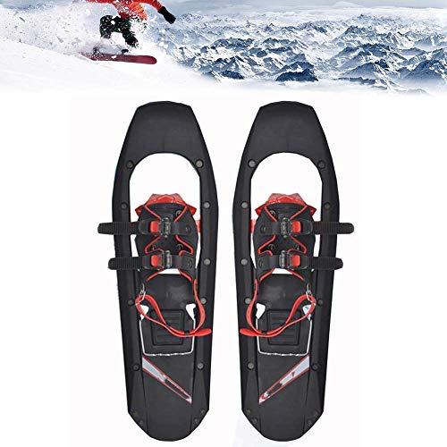 GWSPORT Raquetas De Nieve para Hombres, Mujeres, Jóvenes, Zapatos De Nieve Ligeros De Aleación De Aluminio con Fijaciones De Trinquete Ajustables para Deportes De Invierno