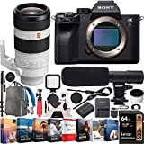 Sony a7R IV Full-Frame Mirrorless Camera Body FE 100-400mm F4.5-5.6 GM G Master Lens ILCE-7RM4 + SEL100400GM Bundle with Photo Video LED, Monopod, Software, Deco Gear Backpack & Accessories
