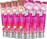 Duschdas Duschgel Damen 6er Pack Pfingstrose & Litschiduft für ein belebendes Gefühl (6 x 200 ml)