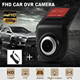 Mini Dash Cam Car DVR Camera 1080P Compatible for Cars Recorder Night Vision