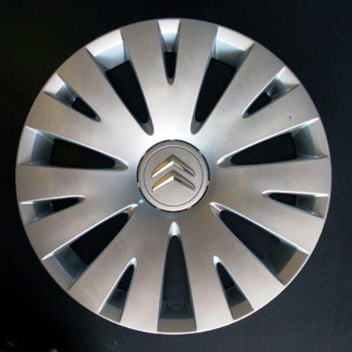 Wheeltrims Set de 4 embellecedores nuevos para Citroen C4 Picasso / C1 / C2 / C4 / C5 / C8 / Nemo/Berlingo/Xsara Picasso con Llantas Originales de 15''
