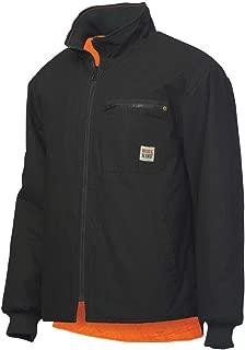 Work King Men's Reversible Safety Jacket