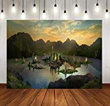 New Natural Scenery Backdrops for Party Background Photography 10x7FT Movie Set Decoration Photo Backgrounds Stand Party Wall Paper Room Mural Props Soft Cotton MSDZY335