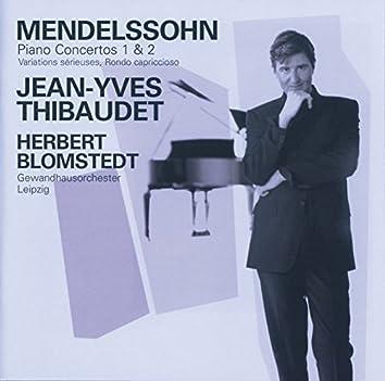 Mendelssohn: Piano Concertos Nos.1 & 2 etc
