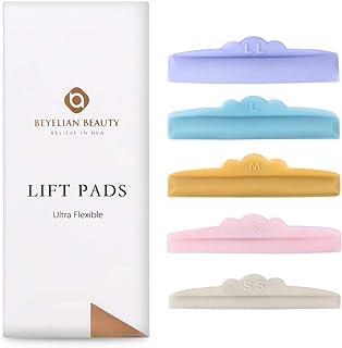 BEYELIAN Lash Lift Pads Eyelash Perming Rods Flexible Soft 5 Sizes SS S M L LL 15 Pcs Makeup Beauty Tool
