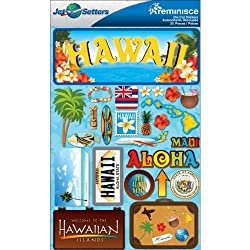 Hawaii Dimensional Stickers