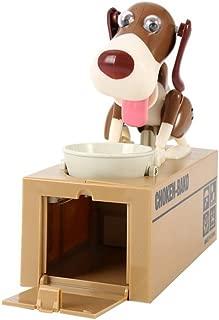 LOBZON Stealing Coin Bank Money Box Piggy Bank , Cute Puppy
