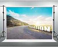 HiYash 8x6ft 自然の風景の背景教育画像の背景画像テーマパーティーの背景誕生日パーティー誕生日の装飾バナー家の装飾と絶妙な記憶ビニール材料