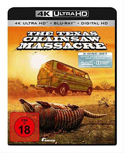 Texas Chainsaw Massacre (4K Ultra HD) (+ Blu-ray) (+ Bonus Blu-ray) (+ Digital Copy)