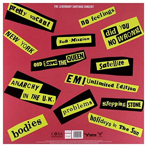 SEX PISTOLS - SAME OLD BOLLOCKS, HERE'S THE SEX PISTOLS: LIMITED EDITION ON YELLOW VINYL - 2