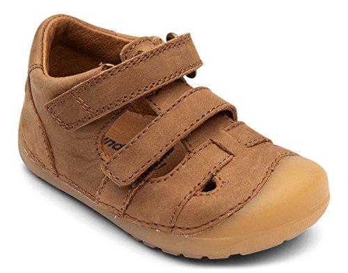 Bundgaard Kinder Sandale BG202066 Baby und Kleinkinder Ledersandalen Sommerschuhe Braun (200 Brown) 1760299031