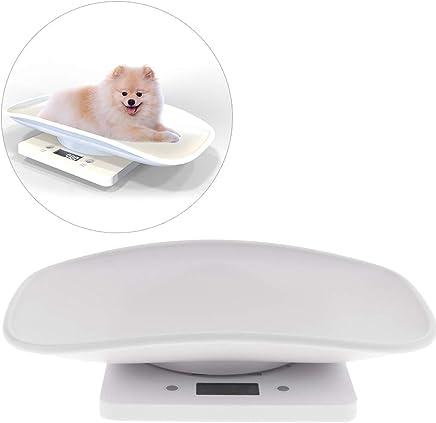 UEETEK ペット体重計 スケール 10KG以内 小型 精密 ポータブル 小型犬 子犬 猫 小動物用 電池式