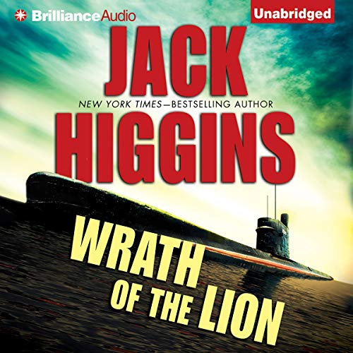 Wrath of the Lion Audiobook By Jack Higgins cover art